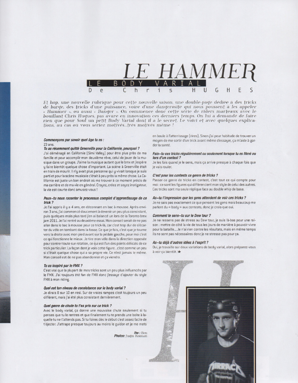 Accueil blog RC » Chris HUGHES bientôt en France!