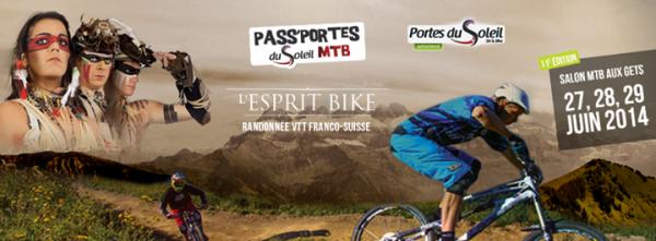 affiche passporte 2014 les gets race company test santacruz vélo