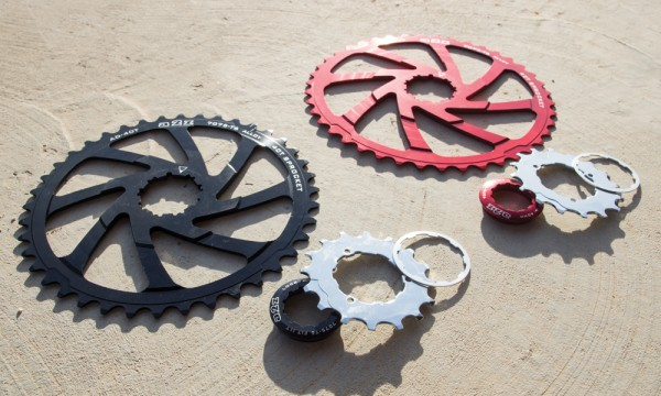 A2PAKIT42 kit conversion 40 42 dents A2Z pour cassette Shimano transmission 1x10 couronne pas cher