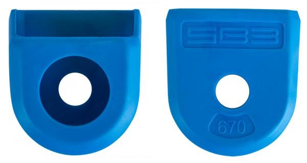 SBPEPRO-blue protection manivelle pédalier VTT carbone