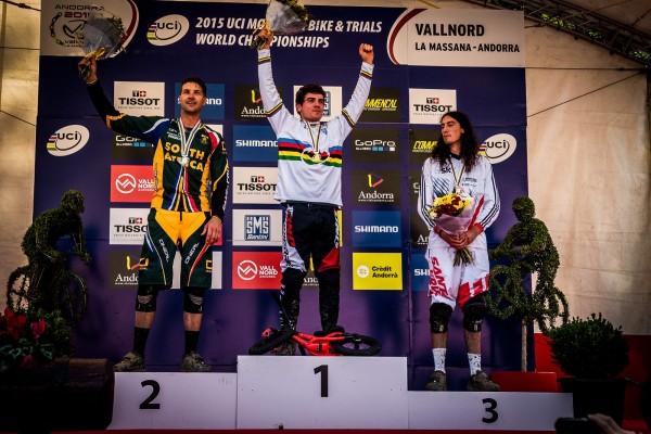 Bruni champion du monde 2016