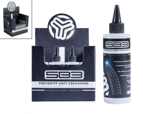 SBPALAT160 liquide latex préventif tubeless anti crevaison SB3 pas cher