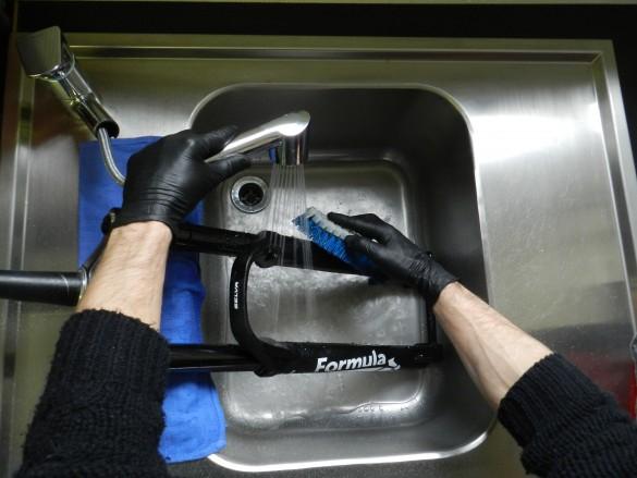 nettoyage fourche Formula Selva entretien boost 2017 35 34